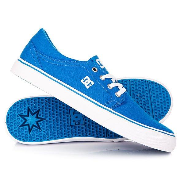 Купить со скидкой Кеды кроссовки низкие детские DC Trase Tx Blue