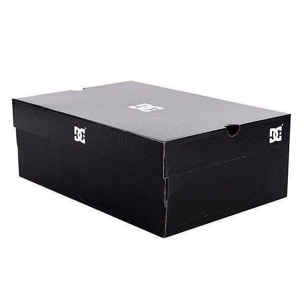 Кеды кроссовки низкие женские DC Trase Se Black/White Print