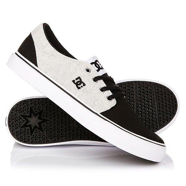 Кеды кроссовки низкие детские DC Trase Tx Se Black/White/Black