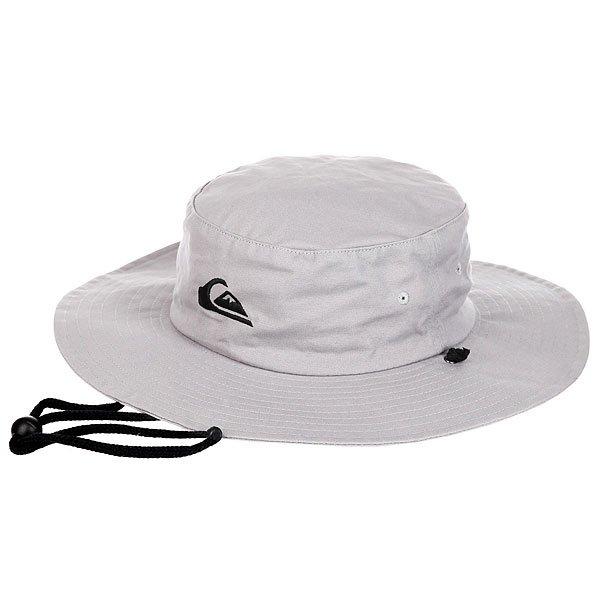 Шляпа Quiksilver Bushmaster Hats Steeple Grey<br><br>Цвет: серый<br>Тип: Шляпа<br>Возраст: Взрослый<br>Пол: Мужской