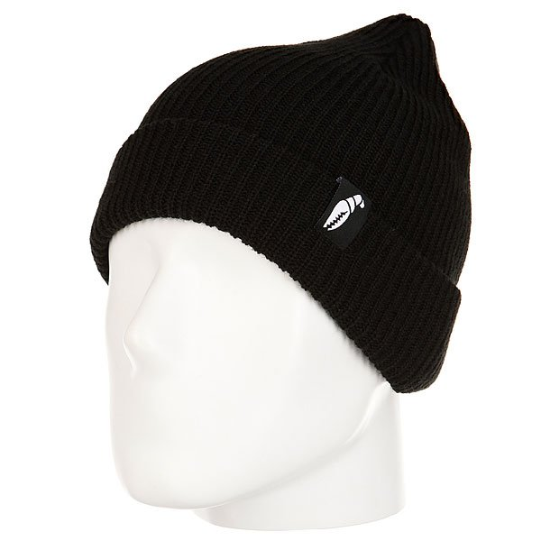 Шапка Crabgrab Claw Label Beanie Deep Black