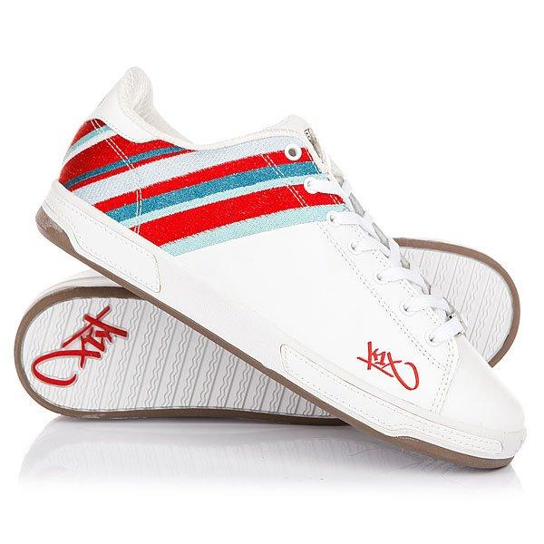 Кеды кроссовки низкие K1X Club Selecao White/Multi<br><br>Цвет: белый<br>Тип: Кеды низкие<br>Возраст: Взрослый<br>Пол: Мужской