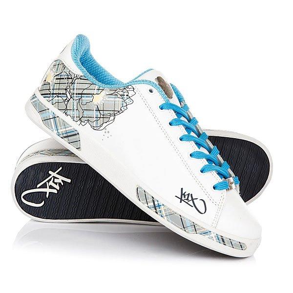 Кеды кроссовки низкие K1X Club Selecao White/Light Blue<br><br>Цвет: белый,голубой<br>Тип: Кеды низкие<br>Возраст: Взрослый<br>Пол: Мужской