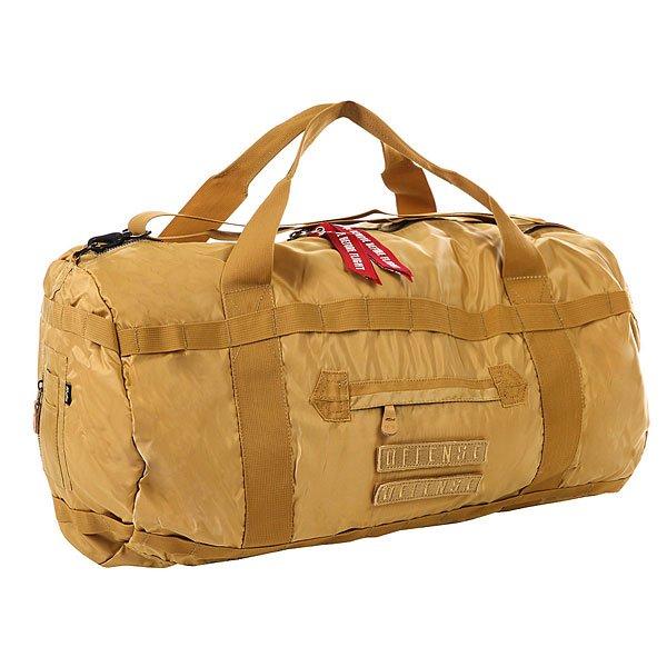 Сумка спортивная K1X X Alpha Duffle Bag BeigeСпортивная сумка, созданная при совместном сотрудничестве K1X с американским брендом Alpha Industries. Прочная сумка из нейлона в благородной цветовой гамме.Технические характеристики: Материал сумки - прочный нейлон из которого изготавливаются куртки Alpha Industries.Стеганая подкладка.Главное отделение на молнии.Несколько внешних карманов.Регулируемый плечевой ремень и ручки для переноски.<br><br>Цвет: бежевый<br>Тип: Сумка спортивная<br>Возраст: Взрослый<br>Пол: Мужской