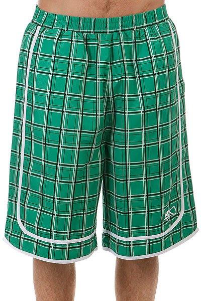 Шорты классические K1X Check It Out Shorts Green<br><br>Цвет: зеленый<br>Тип: Шорты классические<br>Возраст: Взрослый<br>Пол: Мужской