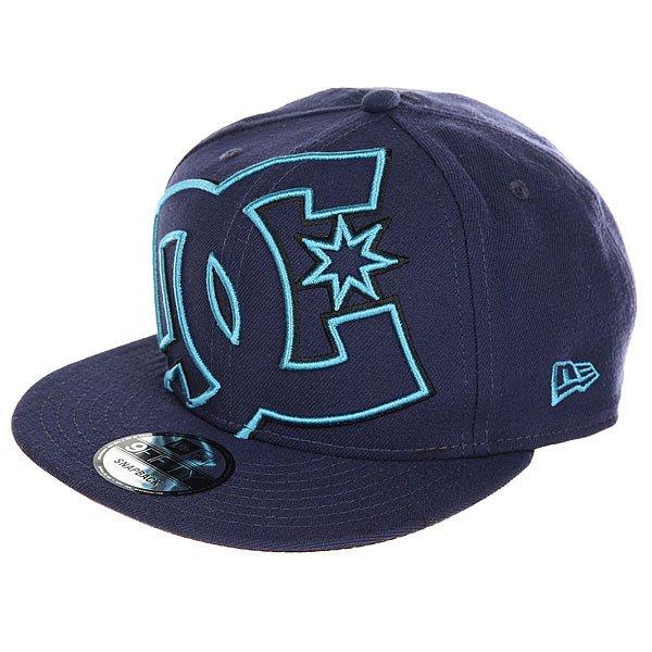 Бейсболка с прямым козырьком DC Double Up Summer Blues<br><br>Цвет: синий<br>Тип: Бейсболка с прямым козырьком<br>Возраст: Взрослый