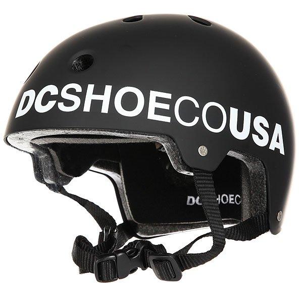 Шлем дл скейтборда DC Askey 3 BlackЛёгкий скейтовый шлем с продуманной системой вентилции. Выполнен из ударопрочного ABS пластика. Обладает отличной ргономикой, обеспечива Вам надежну защиту.Характеристики:Стандарт безопасностиCE EN 1078.Ударопрочный ABS пластик. Регулируема пластикова защёлка. 11 вентилционных отверстий. Съёмна мощас подкладка. Материал: 100% пластик.<br><br>Цвет: черный<br>Тип: Шлем дл скейтборда<br>Возраст: Взрослый<br>Пол: Мужской