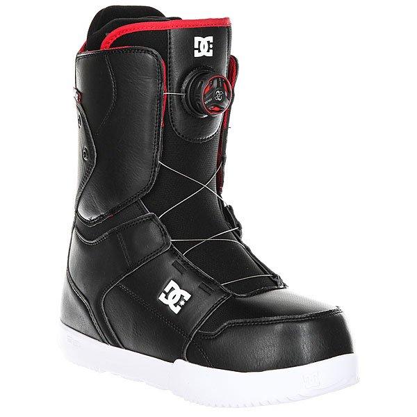 Ботинки для сноуборда DC Scout BlackDC SCOUT с технологией BOA созданыдля тех, кто не любит долго ждать. Система шнуровки BOA H3 - быстрый и лёгкий способ затянуть ботинок для катания, обеспечив идеальную посадку по ноге, а затем расслабить ботинок для ходьбы. Полная боевая готовность за считанные секунды! Характеристики:Уровень подготовки райдера: от начинающего до продвинутого. Система шнуровки BOA H3 - быстрый и лёгкий способ затянуть ботинок для катания, обеспечив идеальную посадку по ноге, а затем расслабить ботинок для ходьбы. Технология Red Liner - многослойная конструкция внутреннего сапога с участием специальной EVA-пены, обладающей «памятью», в сочетании с его терморегуляционной флисовой подкладкой подарит идеальную посадку сапога, комфорт и тепло. Низкопрофильная стелька дает больший контроль над доской и в то же время смягчает удары. Подошва UNILITE - запатентованная технология обеспечивает прочность, амортизацию, устойчивость к деформации и маленький вес. Она сконструирована так, чтобы избежать налипания снега. Новый 3D язычок анатомической формы для еще большего комфорта. Прочная конструкция. Стильный дизайн.<br><br>Цвет: черный<br>Тип: Ботинки для сноуборда<br>Возраст: Взрослый<br>Пол: Мужской