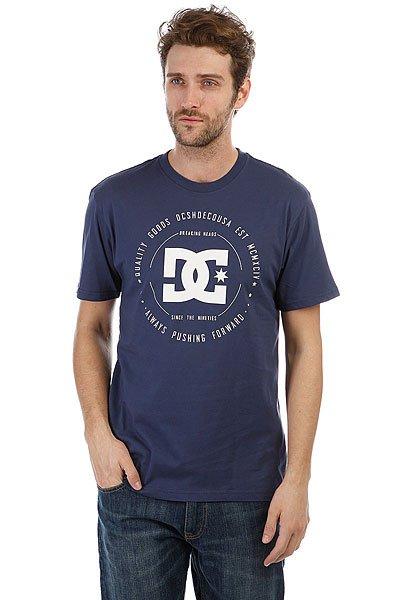 Футболка DC Rebuilt 2 Summer Blues<br><br>Цвет: синий<br>Тип: Футболка<br>Возраст: Взрослый<br>Пол: Мужской