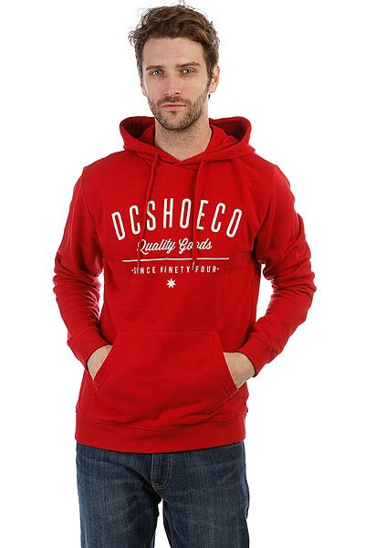Толстовка кенгуру DC Severance Ph Chili Pepper рубашка в клетку dc shoes yorton ls chili pepper
