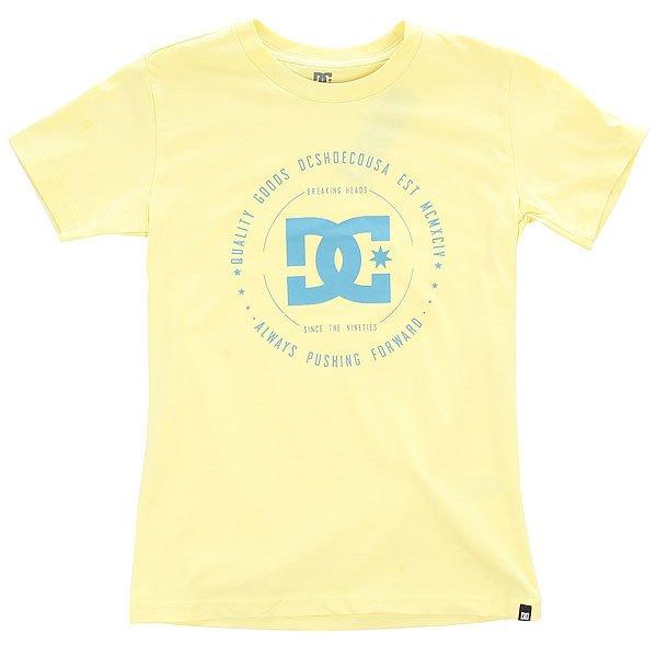Футболка детская DC Rebuilt 2 Chardonnay футболка детская dc rebuilt ss by tees white tropical