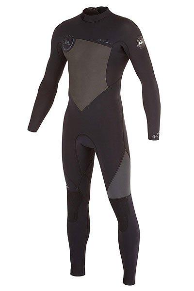 Гидрокостюм (Комбинезон) Quiksilver 543syncrogbsbzf Black/ Graphite