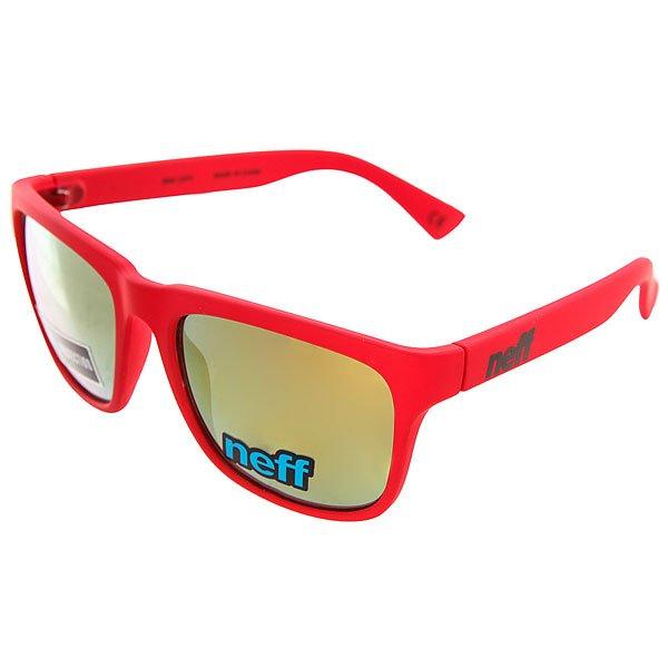 Очки Neff Chip Rdst<br><br>Цвет: красный<br>Тип: Очки<br>Возраст: Взрослый<br>Пол: Мужской