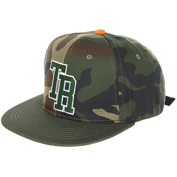 Бейсболка с прямым козырьком Terror Snow Snapback Green<br><br>Цвет: коричневый,зеленый,черный,камуфляжный<br>Тип: Бейсболка с прямым козырьком<br>Возраст: Взрослый
