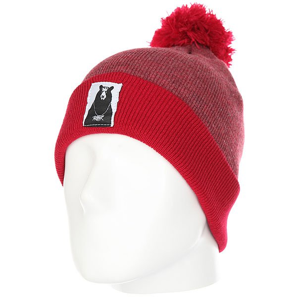 шапка-terror-snow-college-red
