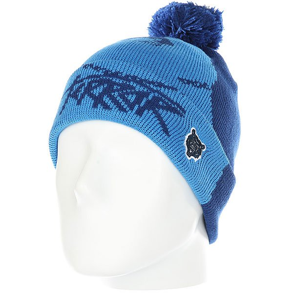 Шапка Terror Snow Bear Blue<br><br>Цвет: синий<br>Тип: Шапка<br>Возраст: Взрослый<br>Пол: Мужской