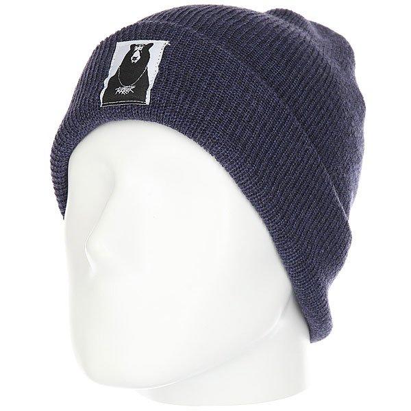 Шапка Terror Snow Knit Blue<br><br>Цвет: синий<br>Тип: Шапка<br>Возраст: Взрослый<br>Пол: Мужской