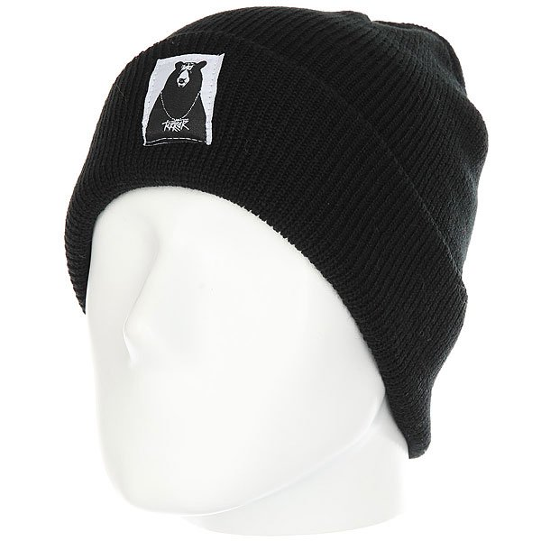 Шапка Terror Snow Knit Black<br><br>Цвет: черный<br>Тип: Шапка<br>Возраст: Взрослый<br>Пол: Мужской