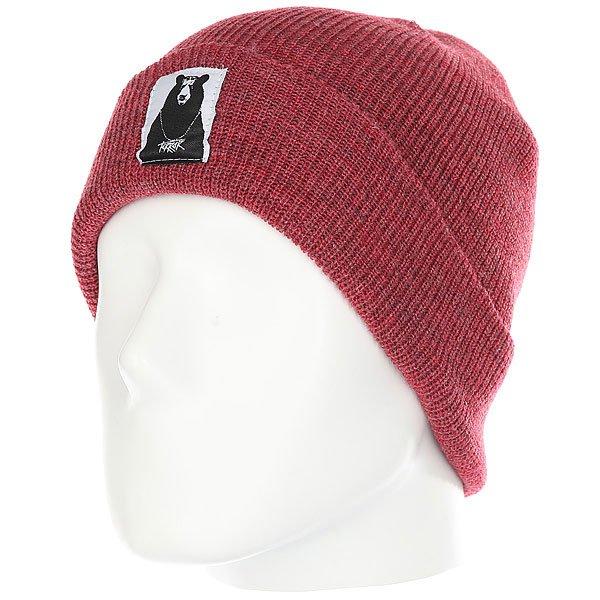 Шапка Terror Snow Knit Red<br><br>Цвет: красный<br>Тип: Шапка<br>Возраст: Взрослый<br>Пол: Мужской