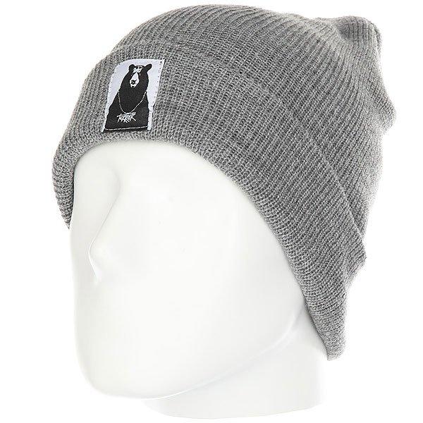 Шапка Terror Snow Knit Grey<br><br>Цвет: серый<br>Тип: Шапка<br>Возраст: Взрослый<br>Пол: Мужской