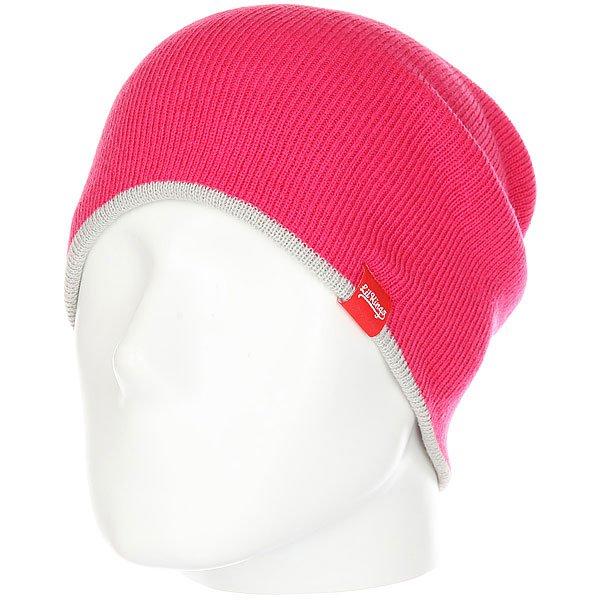Шапка носок Lil Kings Double Side Pink<br><br>Цвет: розовый,серый<br>Тип: Шапка носок<br>Возраст: Взрослый<br>Пол: Мужской