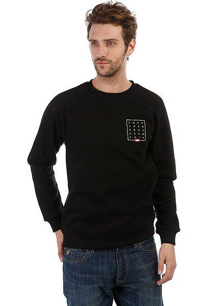 Толстовка классическая Skills Slogan Quad Sweatshirt Черный<br><br>Цвет: черный<br>Тип: Толстовка классическая<br>Возраст: Взрослый<br>Пол: Мужской