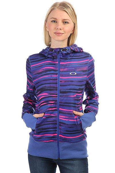 Толстовка сноубордическая женская Oakley Covert Fleece Eminence<br><br>Цвет: синий,розовый<br>Тип: Толстовка сноубордическая<br>Возраст: Взрослый<br>Пол: Женский