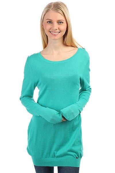 Джемпер женский Volcom Trouble Sweater Bright Turquoise