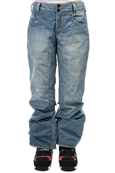 Штаны сноубордические женские Burton Wb The Jeans Pt Blue Denim