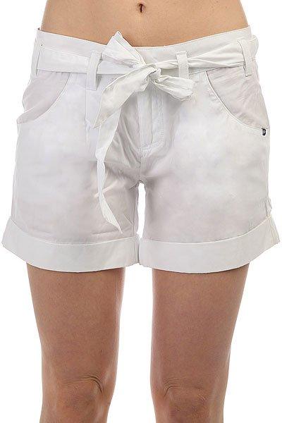 Шорты классические женские Oakley Pch Short White<br><br>Цвет: белый<br>Тип: Шорты классические<br>Возраст: Взрослый<br>Пол: Женский