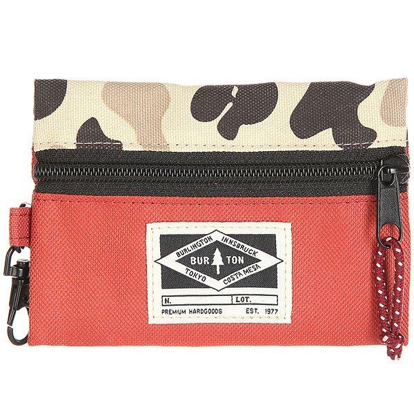 Кошелек Burton Amhurst Wallet Red Clay