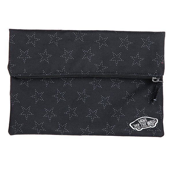 Клатч женский Vans Stonewall Pouch Star Dot Black