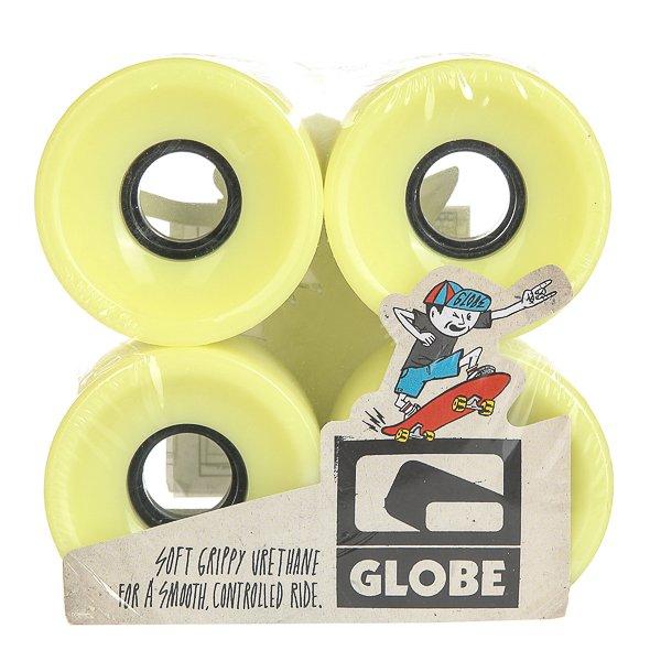 Колеса для скейтборда для лонгборда Globe Bantam Wheel Glow In The Dark 83A 62 mm колеса для скейтборда для лонгборда eastcoast shelby white 78a 65 mm