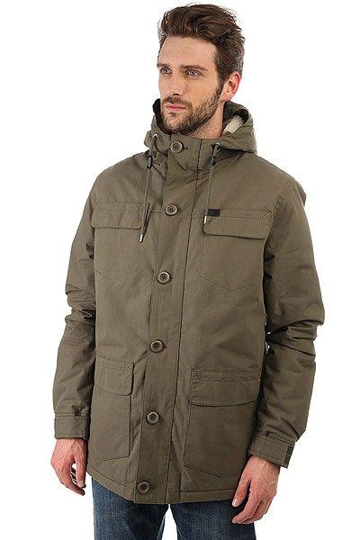 Куртка парка Globe Goodstock Parka Ii Army<br><br>Цвет: зеленый<br>Тип: Куртка парка<br>Возраст: Взрослый<br>Пол: Мужской