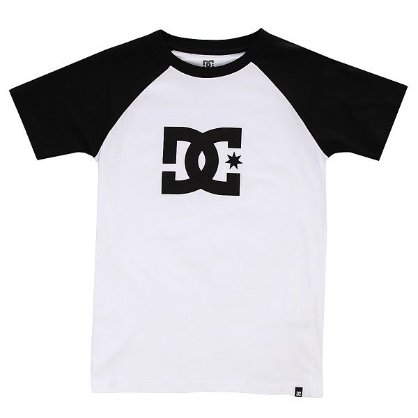 Футболка детская DC Star Ss Raglan Snow White/Black