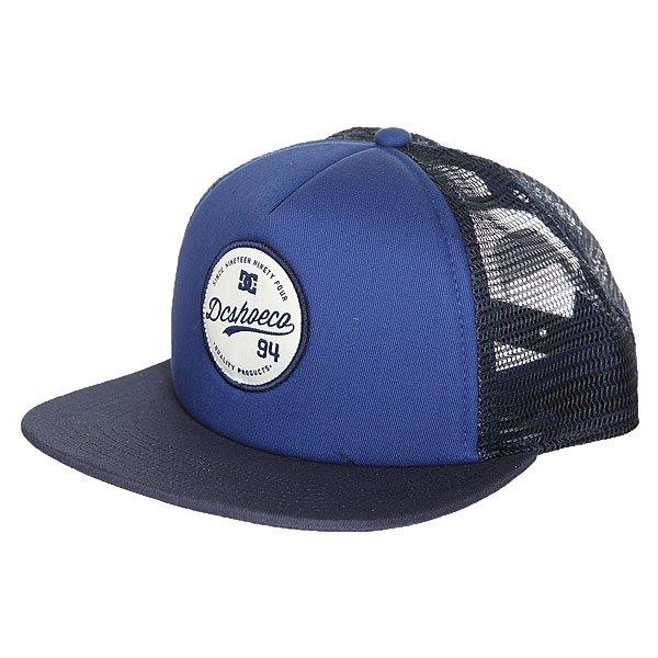 Бейсболка с сеткой DC Schmades Summer Blues<br><br>Цвет: синий,черный<br>Тип: Бейсболка с сеткой<br>Возраст: Взрослый