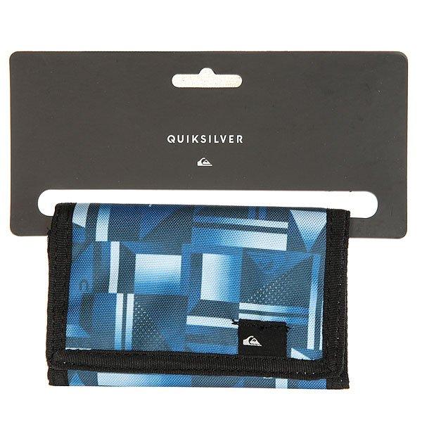 Кошелек Quiksilver The Everyday Blue Miror
