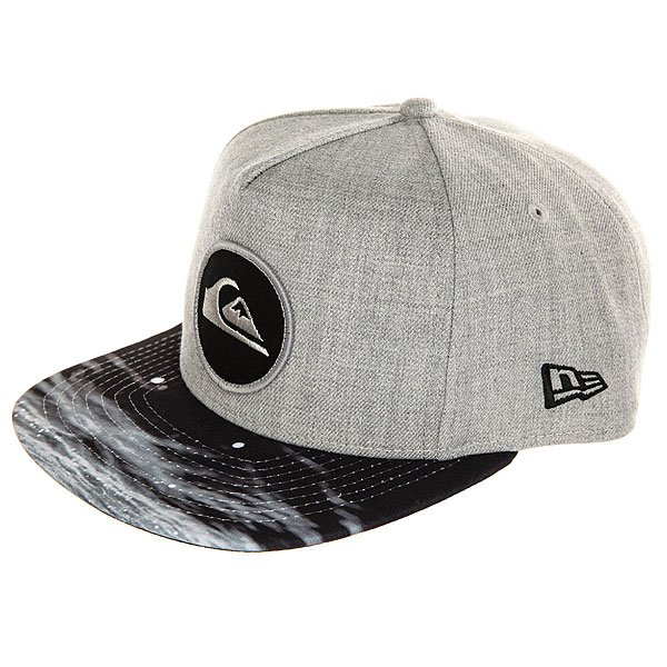 Бейсболка с прямым козырьком Quiksilver Aquablunt Light Grey Heather матрас dreamline dreamroll contour mix 180х200