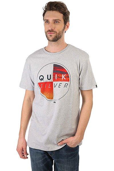 Футболка Quiksilver Blazed Athletic Heather<br><br>Цвет: серый<br>Тип: Футболка<br>Возраст: Взрослый<br>Пол: Мужской
