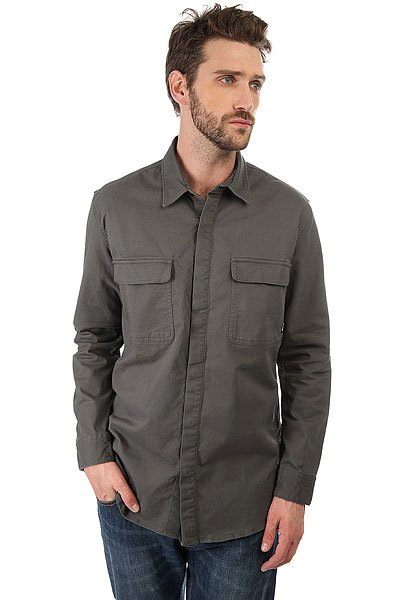 Рубашка Quiksilver Lost Task Urban Chic<br><br>Цвет: зеленый<br>Тип: Рубашка<br>Возраст: Взрослый<br>Пол: Мужской