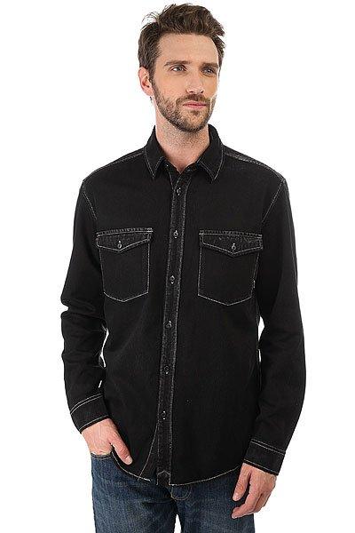 Рубашка Quiksilver Tracks Down Tarmac<br><br>Цвет: черный<br>Тип: Рубашка<br>Возраст: Взрослый<br>Пол: Мужской