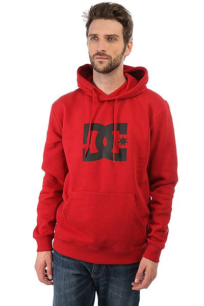 Толстовка кенгуру DC Shoes Star Ph Chili Pepper рубашка в клетку dc shoes yorton ls chili pepper