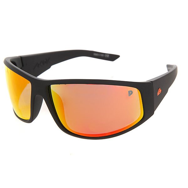 Очки Quiksilver Akdk Plz Float Matte Black/Polarize очки quiksilver hideout plz pc matte black yellow p