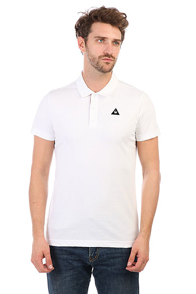 Купить со скидкой Поло Le Coq Sportif Geo Jacquard Polo Optical White
