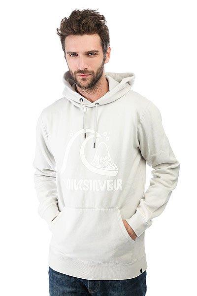 Толстовка кенгуру Quiksilver Bubble Hoody Glacier Gray<br><br>Цвет: серый<br>Тип: Толстовка кенгуру<br>Возраст: Взрослый<br>Пол: Мужской
