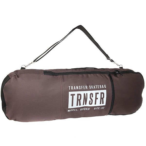 Чехол дл скейтборда Transfer Rookie BrownTransfer bags - то бренд родом из Санкт-Петербурга, созданный молодыми и нергичными лдьми. Наши товары по достоинству займут важное место в твоей жизни и станут тебе надежными друзьми. Характеристики:Внешний материалOxford 600 PU. Внешний карман дл скейтовой мелочи. Бокова ручка дл переноски. Двойна молни на основном отсеке. Лмка дл транспортировки чехла через плечо. Легко вместит комплект с декой длиной до 33'.Transfer bags - то бренд родом из Санкт-Петербурга, созданный молодыми и нергичными лдьми. Наши товары по достоинству займут важное место в твоей жизни и станут тебе надежными друзьми. Характеристики:Внешний материалOxford 600 PU.Внешний карман дл скейтовой мелочи.Бокова ручка дл переноски.Двойна молни на основном отсеке. Лмка дл транспортировки чехла через плечо. Легко вместит комплект с декой длиной до 33'. Логотип со светоотражащей лентой.<br><br>Цвет: коричневый<br>Тип: Чехол дл скейтборда<br>Возраст: Взрослый<br>Пол: Мужской