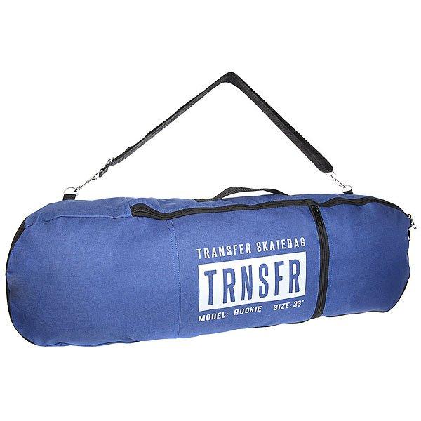 Чехол для скейтборда Transfer Rookie NavyTransfer bags - это бренд родом из Санкт-Петербурга, созданный молодыми и энергичными людьми. Наши товары по достоинству займут важное место в твоей жизни и станут тебе надежными друзьями. Характеристики:Внешний материалOxford 600 PU. Внешний карман для скейтовой мелочи. Боковая ручка для переноски. Двойная молния на основном отсеке. Лямка для транспортировки чехла через плечо. Легко вместит комплект с декой длиной до 33'.Transfer bags - это бренд родом из Санкт-Петербурга, созданный молодыми и энергичными людьми. Наши товары по достоинству займут важное место в твоей жизни и станут тебе надежными друзьями. Характеристики:Внешний материалOxford 600 PU.Внешний карман для скейтовой мелочи.Боковая ручка для переноски.Двойная молния на основном отсеке. Лямка для транспортировки чехла через плечо. Легко вместит комплект с декой длиной до 33'. Логотип со светоотражающей лентой.<br><br>Цвет: синий<br>Тип: Чехол для скейтборда<br>Возраст: Взрослый<br>Пол: Мужской