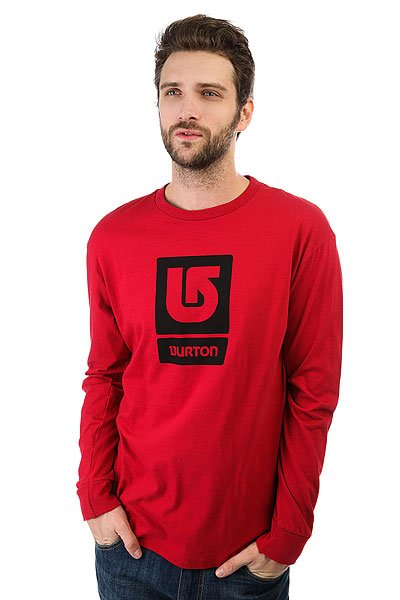 Лонгслив Burton Mns Lgo Vertical Red