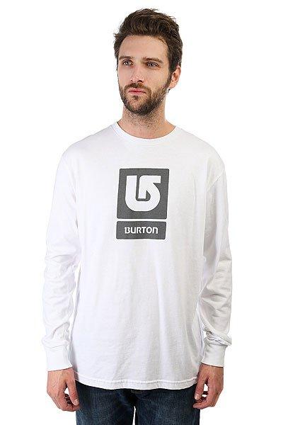 Лонгслив Burton Mns Lgo Vertical White