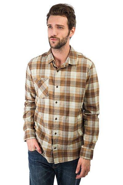Рубашка в клетку Volcom Pablo Ii Ls Mocha<br><br>Цвет: бежевый<br>Тип: Рубашка в клетку<br>Возраст: Взрослый<br>Пол: Мужской